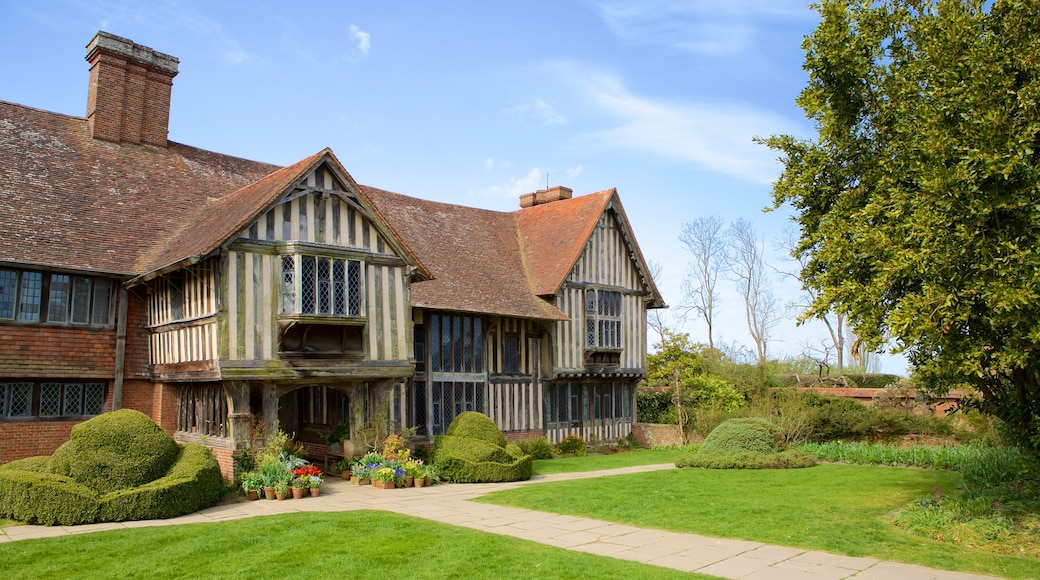 Great Dixter House and Gardens which includes heritage elements and a park