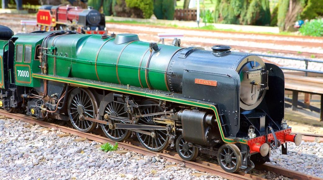 Eastbourne Miniature Steam Railway Adventure Park showing railway items