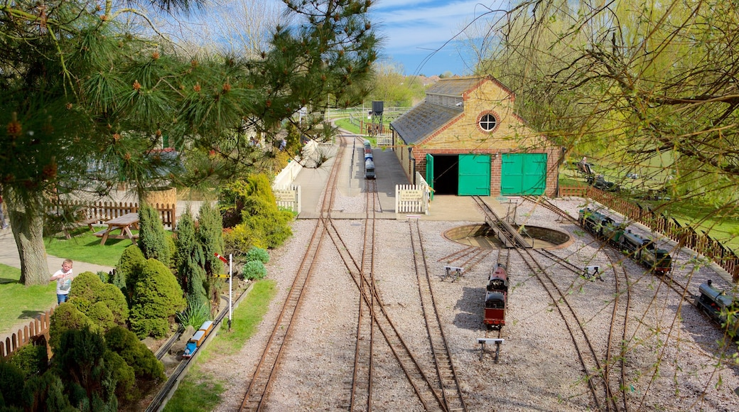 Eastbourne Miniature Steam Railway Adventure Park featuring railway items and a park