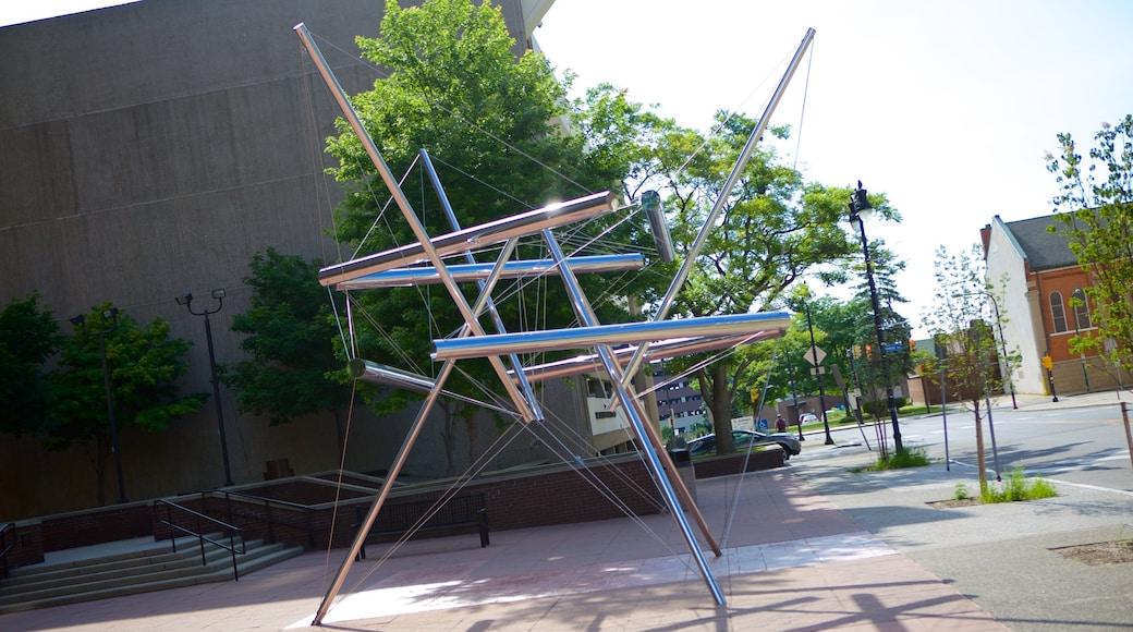 Buffalo que inclui arte ao ar livre