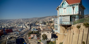 Valparaiso which includes a city and landscape views