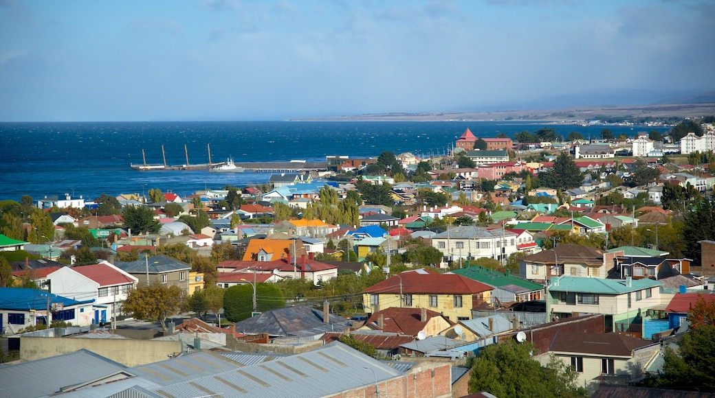 Punta Arenas featuring a city and a coastal town