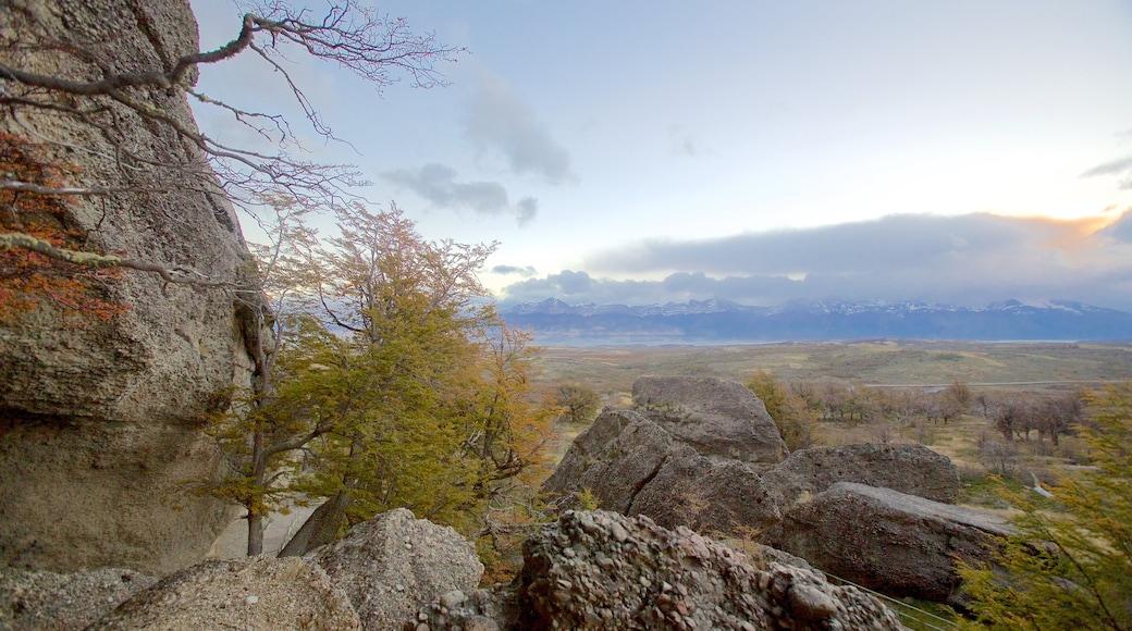 Cueva del Milodón mostrando vistas panorámicas