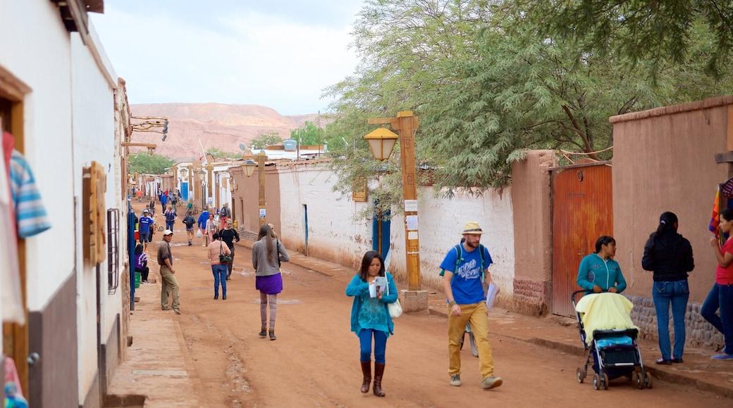San Pedro de Atacama as well as a small group of people