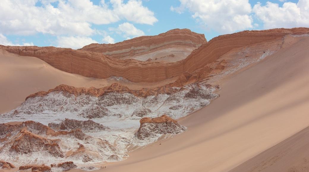 Valle de la Luna das einen Wüstenblick