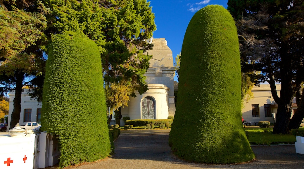 Cimetière de Punta Arenas qui includes parc