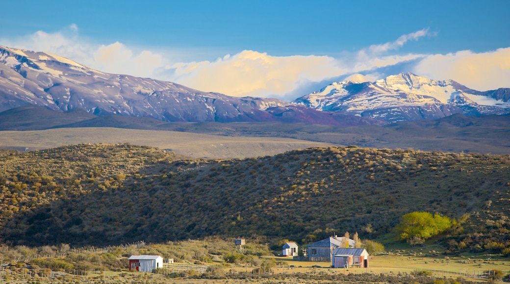 Torres Del Paine featuring landscape views and tranquil scenes