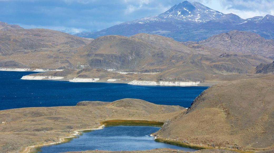 Torres Del Paine which includes landscape views, a lake or waterhole and tranquil scenes