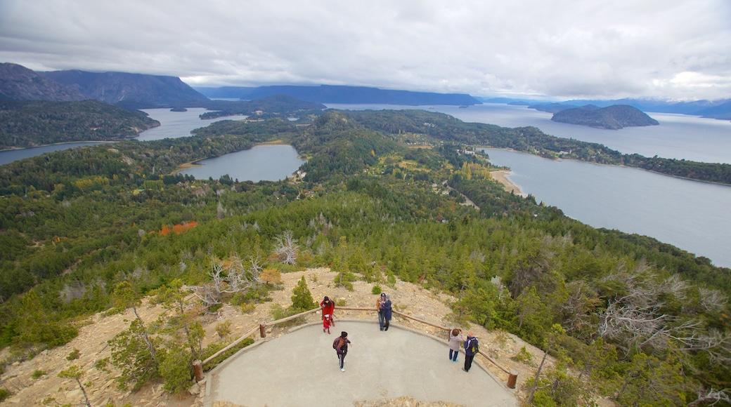 Cerro Campanario showing views, landscape views and a lake or waterhole