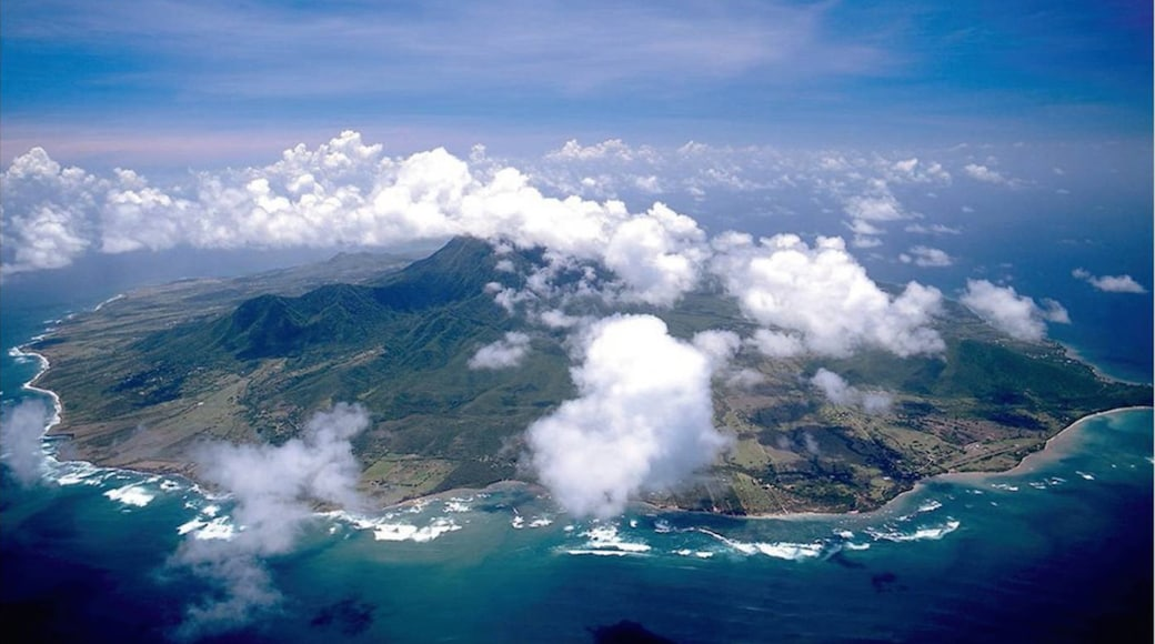 Nevis featuring general coastal views and island views
