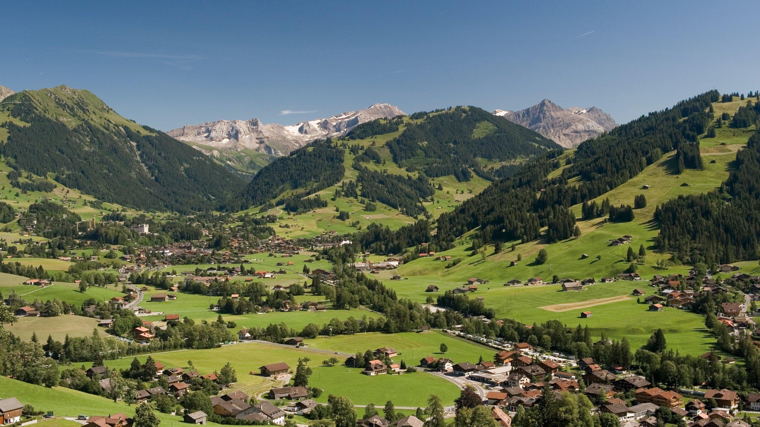 Gstaad, Saanen, Canton of Bern, Switzerland