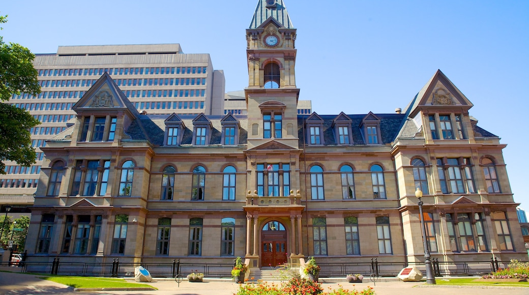 Halifax mit einem Geschichtliches und historische Architektur