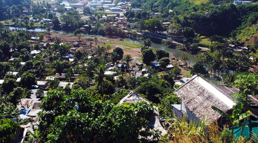 Honiara welches beinhaltet Fluss oder Bach und Kleinstadt oder Dorf