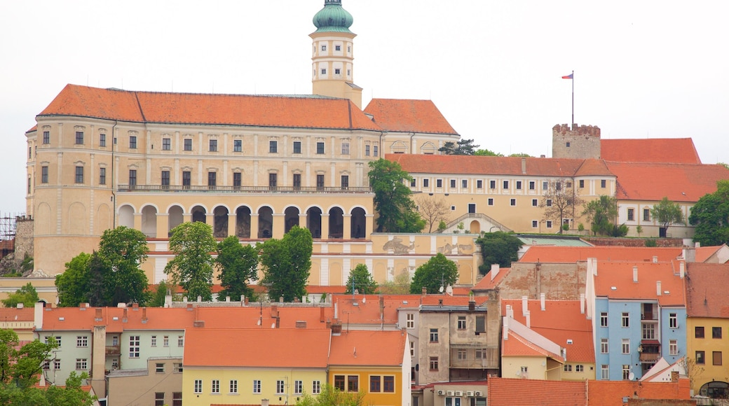 South Moravian which includes a city