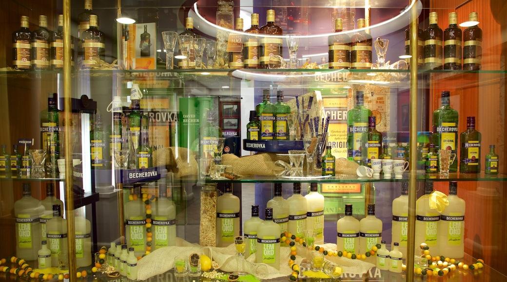 Jan-Becher-Museum mit einem Innenansichten