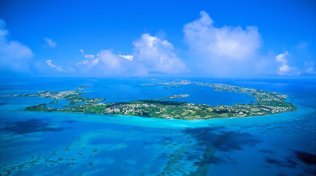 Bermuda showing island images and general coastal views