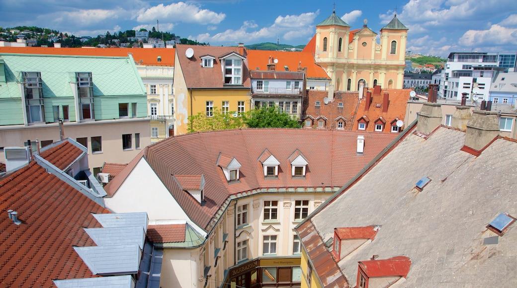 Bratislava showing a city