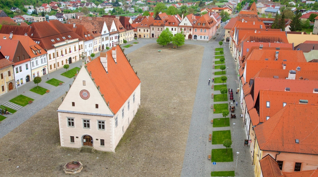 Bardejov Square showing a city and a square or plaza