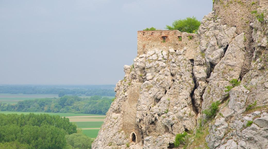 Devinin linna featuring raunio, linna tai palatsi ja perintökohteet