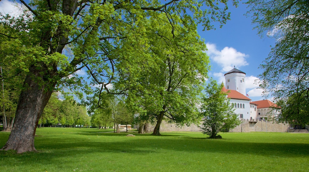 Slovakia featuring a park, château or palace and heritage architecture