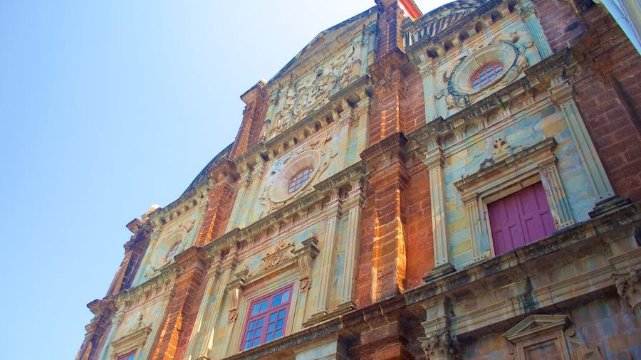 Basilica of Bom Jesus showing heritage architecture