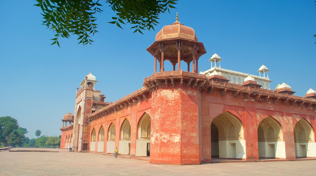 Sikandra which includes a mosque