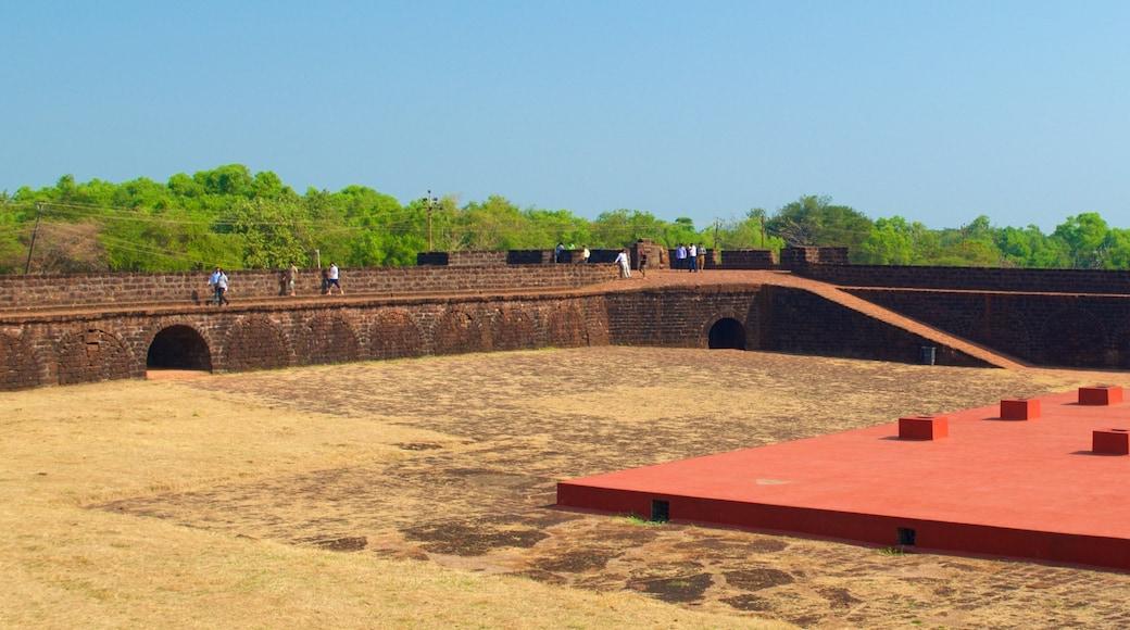 Candolim Beach - Fort Aguada featuring a castle