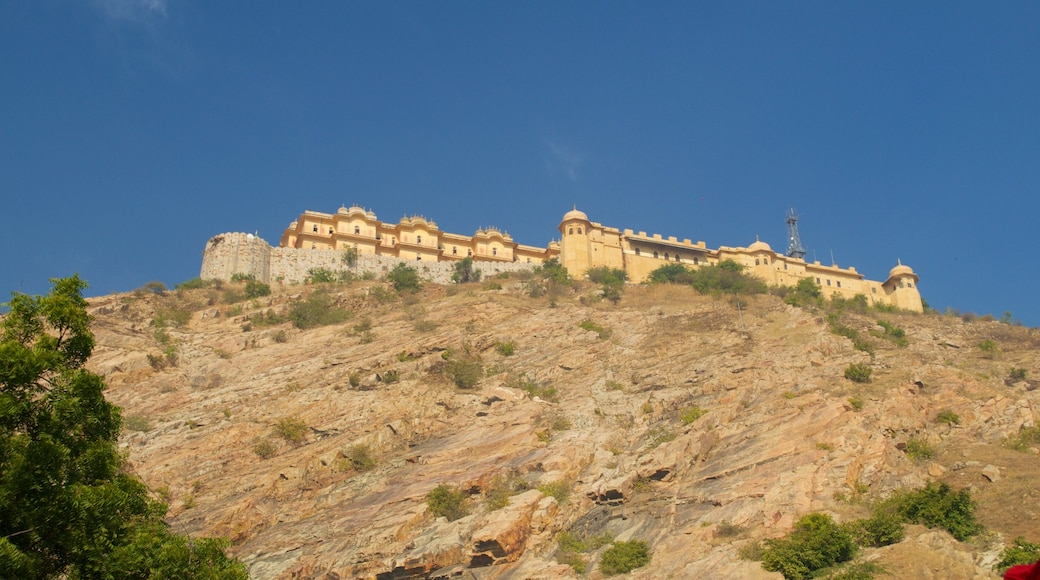Nahargarh Fort showing a castle
