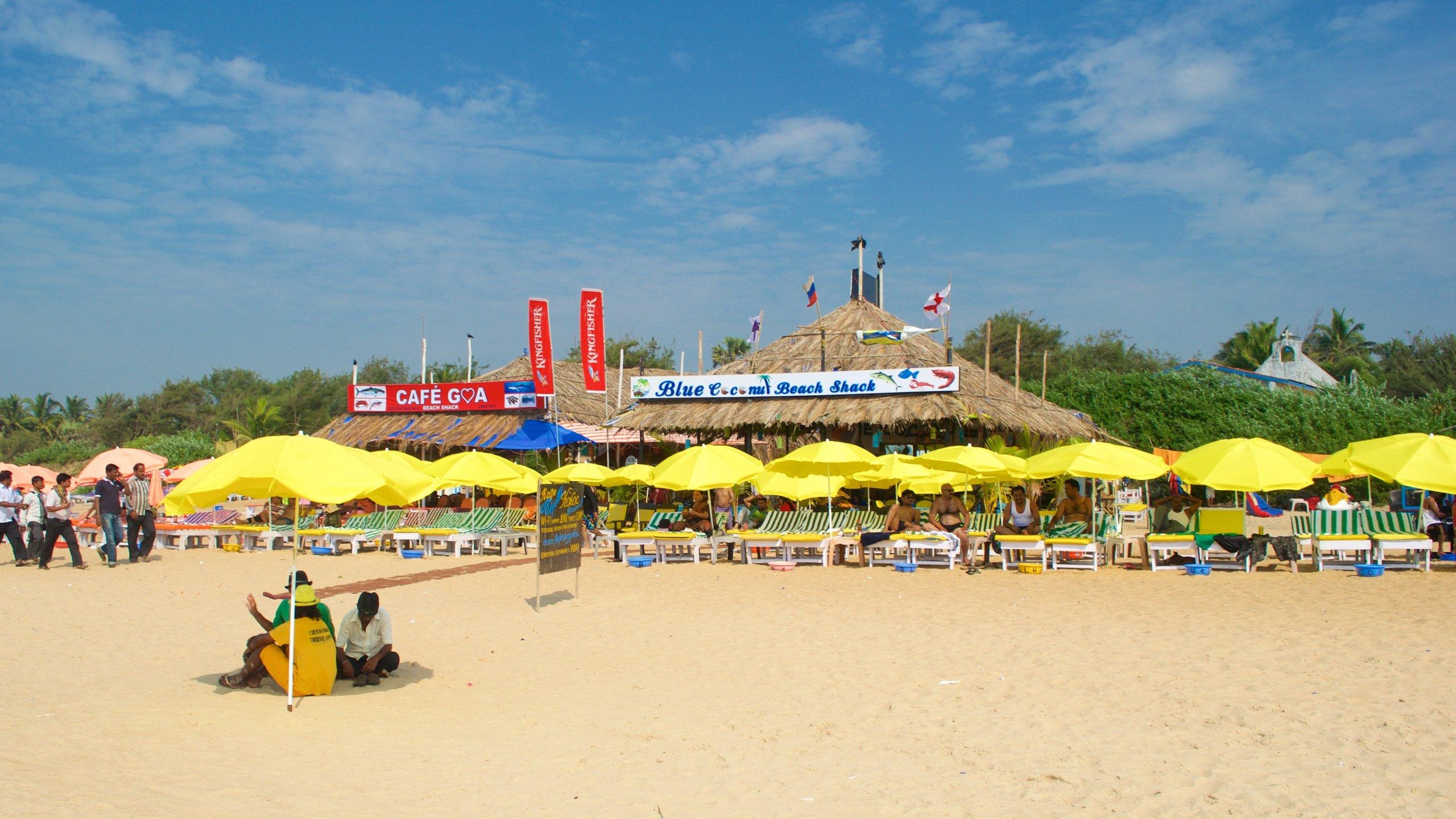 Calangute Beach, Calangute, Goa, India