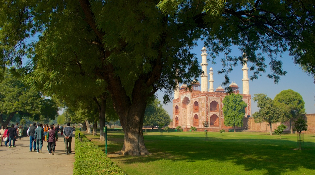 Sikandra featuring a park