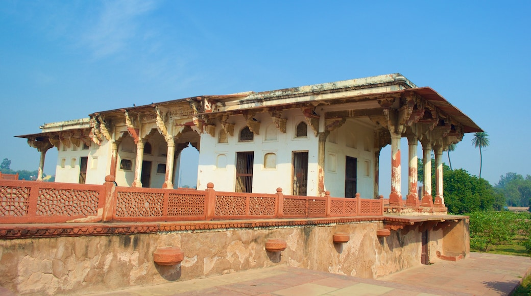 Ram Bagh which includes a park and château or palace
