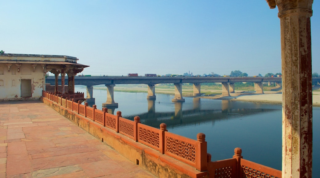 Ram Bagh featuring a river or creek, views and a castle