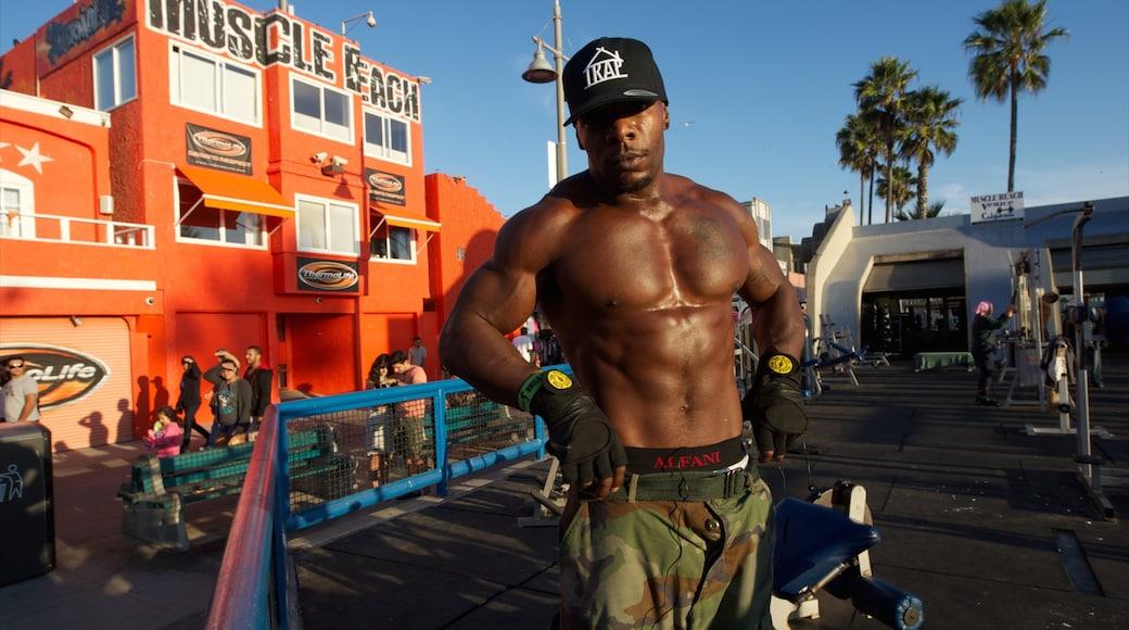 Venice Beach sekä yksi mies