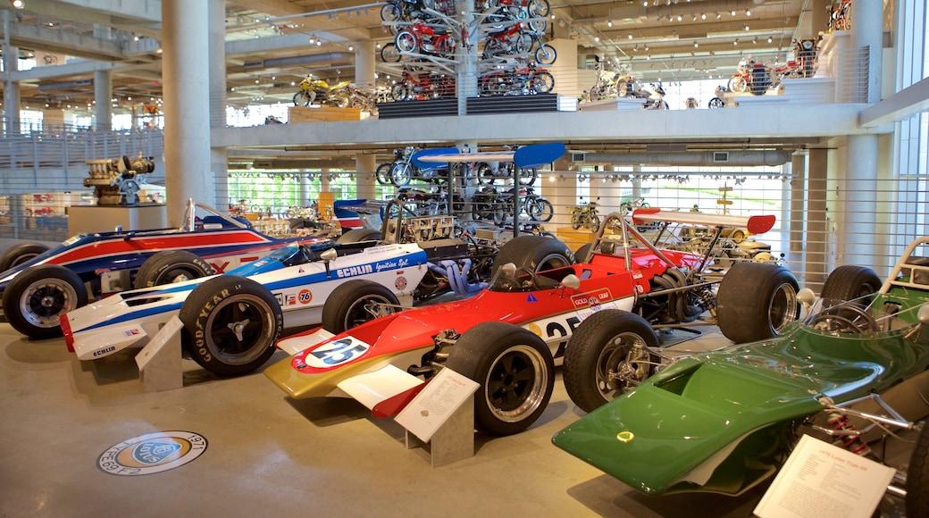 Barber Motorsports Park showing interior views