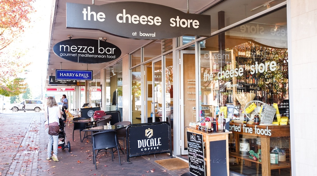 Bowral which includes shopping and café lifestyle