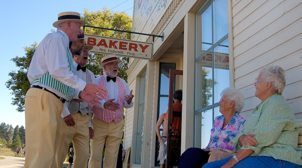 Cranbrook showing music, heritage elements and street performance