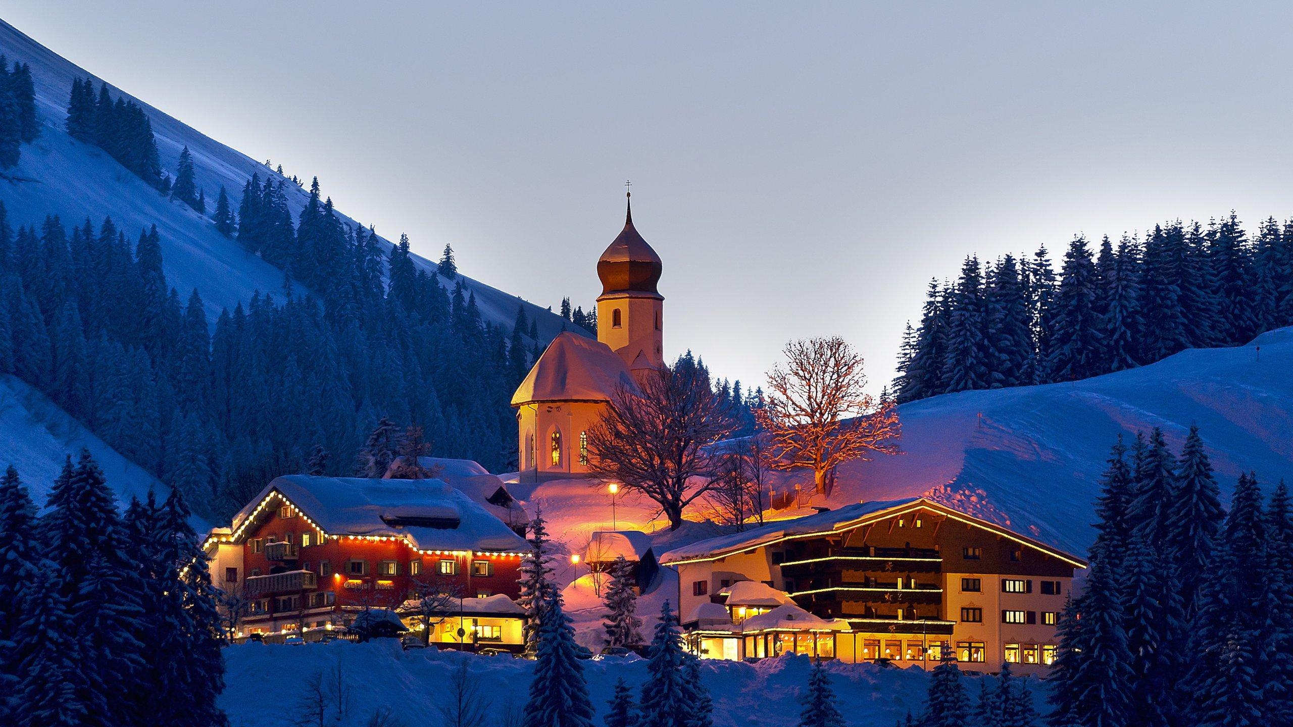 Skigebiet Damüls Mellau Faschina, Mellau, Vorarlberg, Österreich