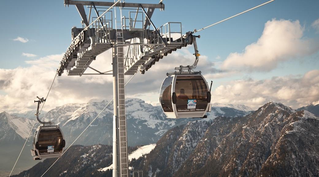 Ski Juwel Alpbachtal Wildschönau das einen Berge, Schnee und Gondel