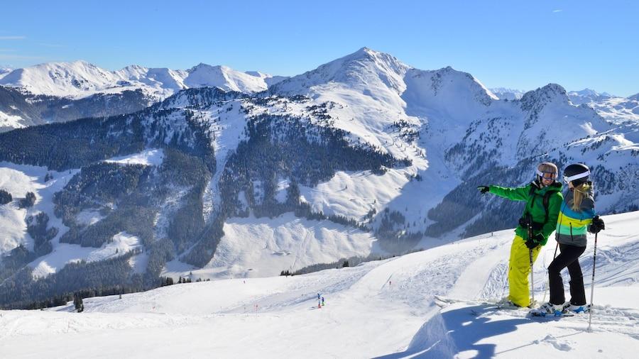 Ski Jewel Alpbachtal - Wildschoenau which includes snow, mountains and snow skiing