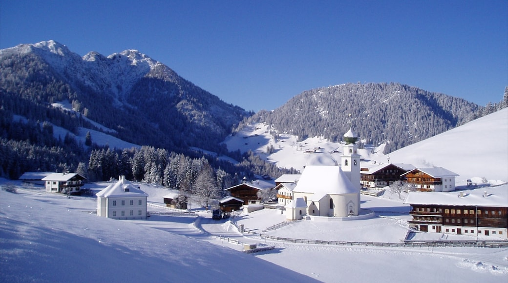 Ski Jewel Alpbachtal - Wildschoenau featuring a small town or village and snow
