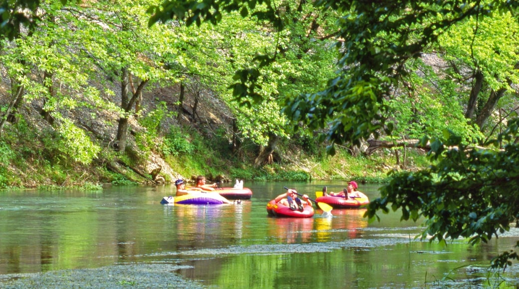 Hardy featuring rafting and a river or creek