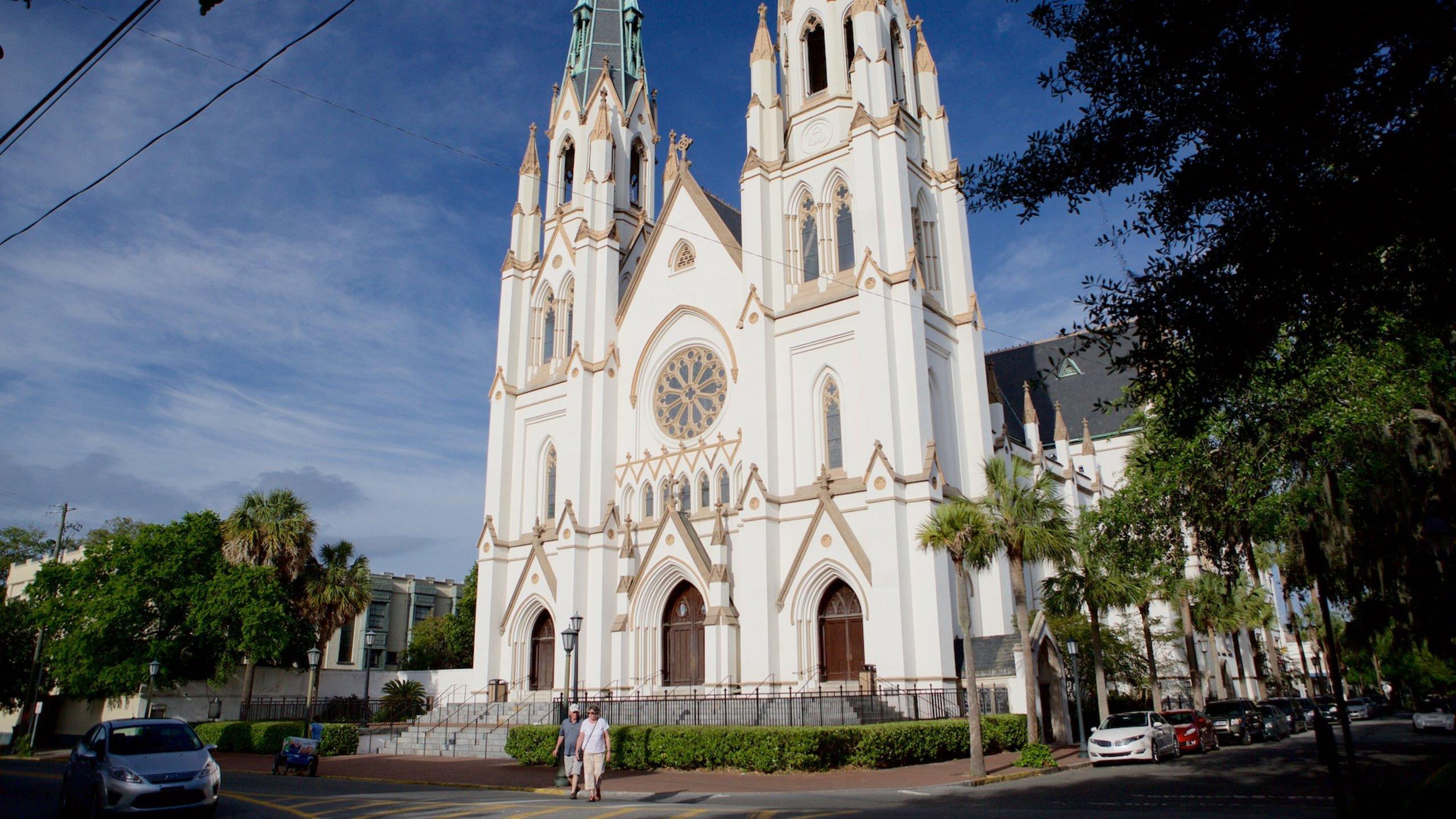 Cathédrale Saint-Jean Baptiste, Savannah, Géorgie, États-Unis d'Amérique