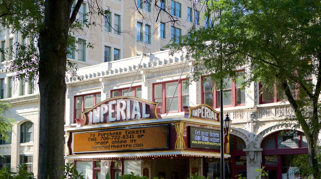 Augusta Imperial Theater showing theatre scenes
