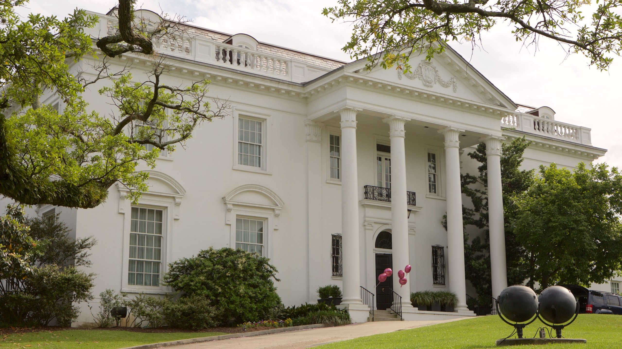 The Old Governor's Mansion, Beauregard Town Historic District, Louisiana, USA
