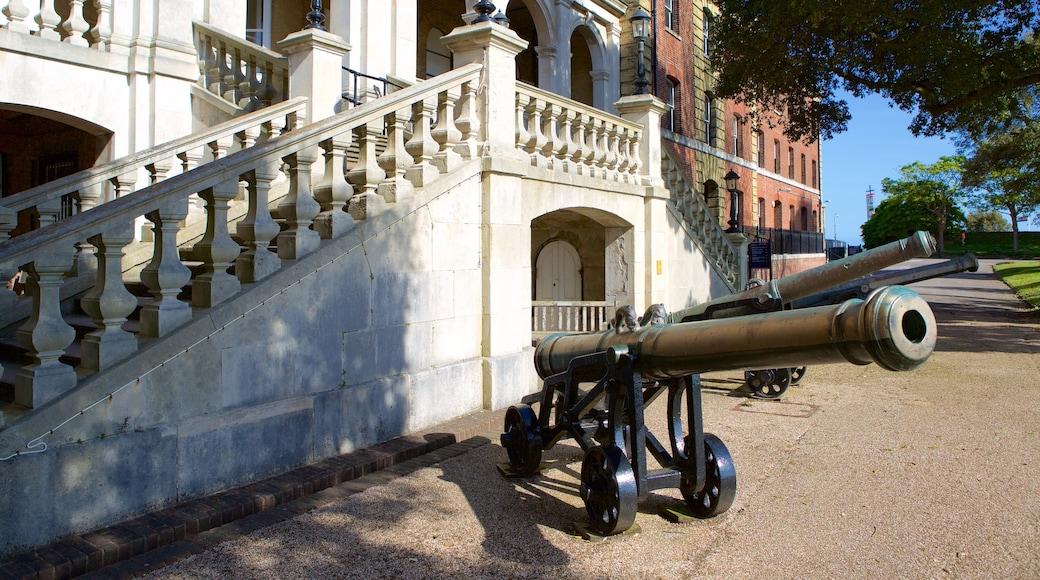 Royal Marines Museum montrant patrimoine historique