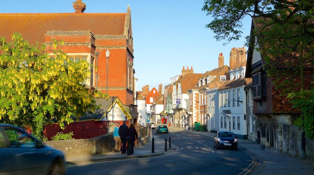 Salisbury joka esittää katunäkymät