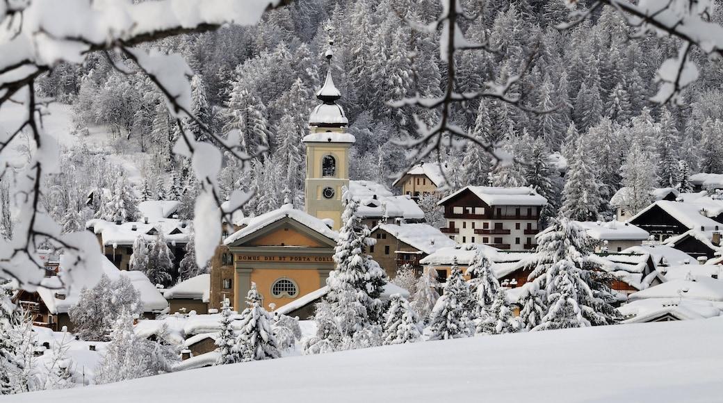Bardonèche qui includes neige