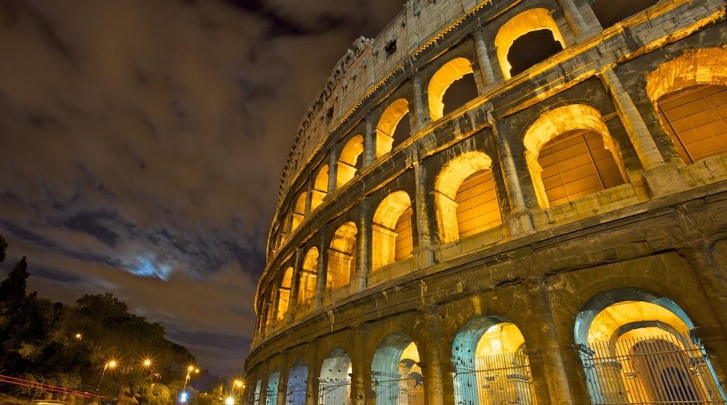 Colosseum bevat nachtleven en een ruïne
