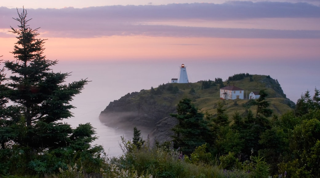 New Brunswick showing a lighthouse