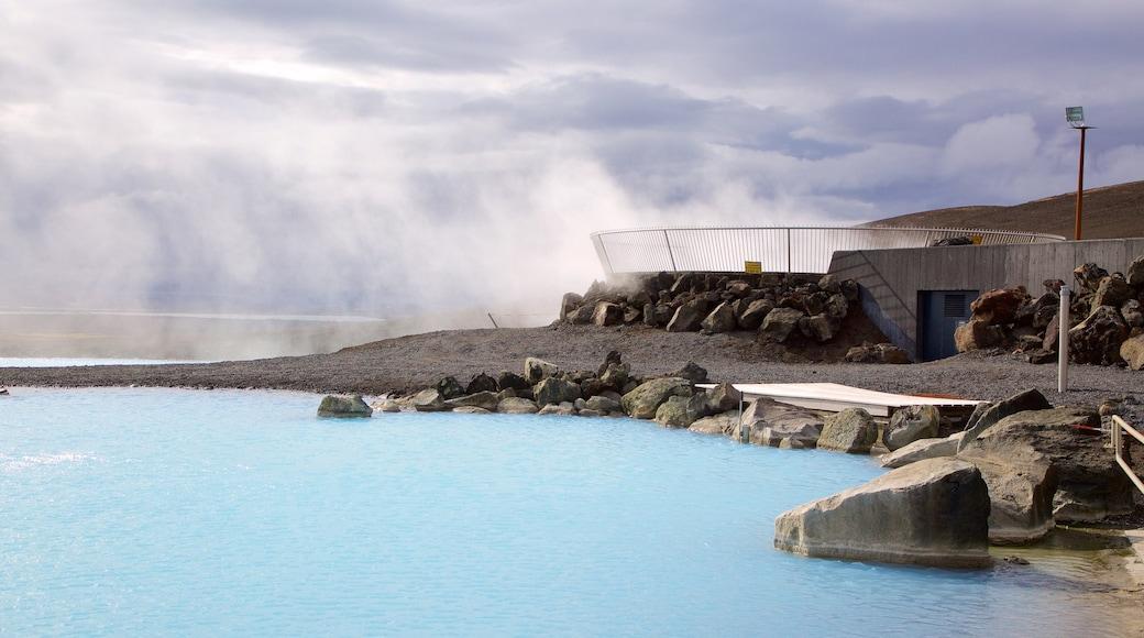 米湖自然浴場 设有 溫泉